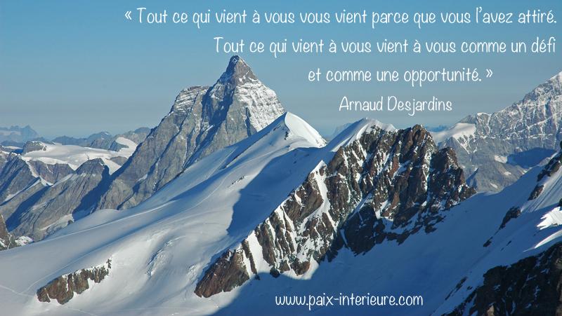 Un Defi Et Une Opportunite Pensee Positive Citations A Mediter